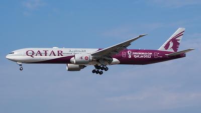 A picture of A7BEB - Boeing 7773DZ(ER) - Qatar Airways - © Karsten S.