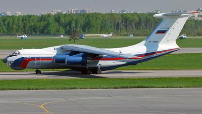 RF-76826 - Ilyushin IL-76MD - Russia - Ministry of Interior