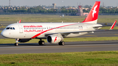 A6-AOE - Airbus A320-214 - Air Arabia
