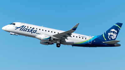 N187SY - Embraer 170-200LR - Alaska Airlines (Skywest Airlines)