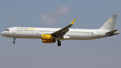 A picture of ECMLM - Airbus A321231 - Vueling - © Jorge Medina Mediavilla