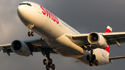 A picture of HBJHG - Airbus A330343 - Swiss - © Kevin Cargo