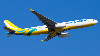 RP-C3343 - Airbus A330-343 - Cebu Pacific Air