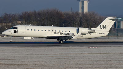 C-FWWU - Bombardier CRJ-200LR - United Nations (Voyageur Airways)
