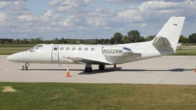 N502RW - Cessna 560 Citation Ultra - Private