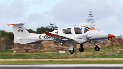 G-GBAS - Diamond Aircraft Diamond DA-62 - Private