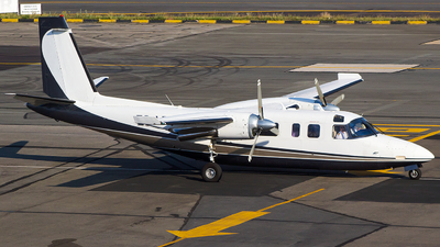 ZS-LRM - Rockwell 690A Turbo Commander - Private