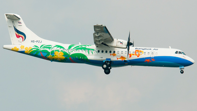 HS-PZJ - ATR 72-212A(600) - Bangkok Airways