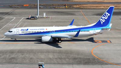 A picture of JA81AN - Boeing 737881 - All Nippon Airways - © HIroki Manabe