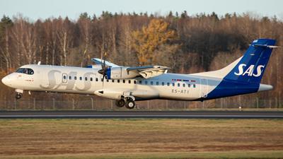 A picture of ESATI - ATR 72600 - SAS - © William Skoglund
