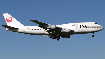 JA8179 - Boeing 747-346 - Japan Airlines (JAL)