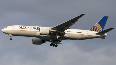 A picture of N798UA - Boeing 777222(ER) - United Airlines - © Angelos Panou