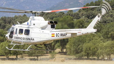 EC-MAP - Bell 412 - Babcock Defence Services