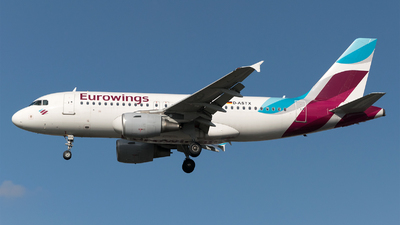 A picture of DASTX - Airbus A319112 - Eurowings - © Daniel Riederer
