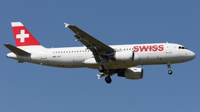 HB-JLP - Airbus A320-214 - Swiss