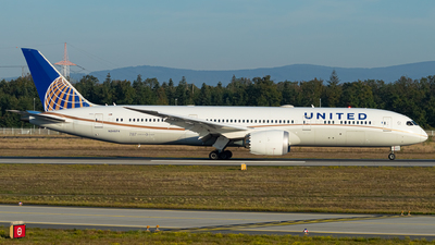 A picture of N24974 - Boeing 7879 Dreamliner - United Airlines - © Kyan Rossignol