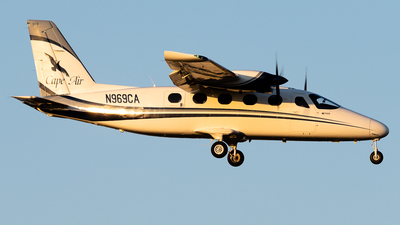 A picture of N969CA - Tecnam P2012 Traveller - Cape Air - © Michael Place