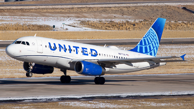 A picture of N877UA - Airbus A319132 - United Airlines - © HA-KLS