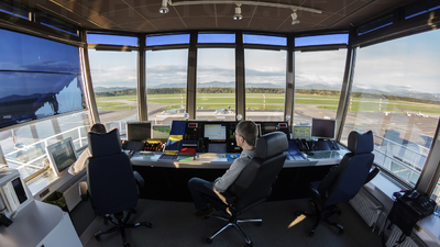 LJLJ - Airport - Control Tower