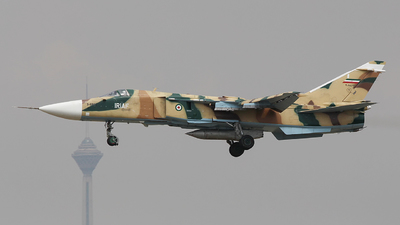 3-6862 - Sukhoi Su-24M Fencer - Iran - Air Force