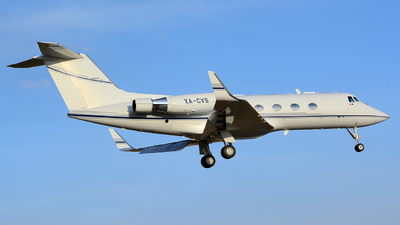 XA-CVS - Gulfstream G-II - Private