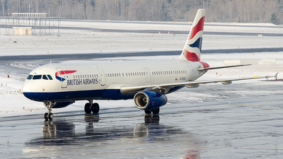 G-EUXG - Airbus A321-231 - British Airways