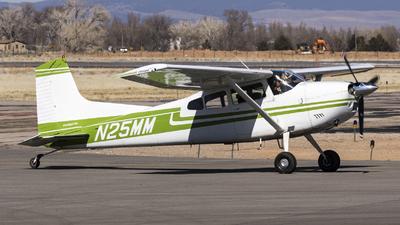 N25MM - Cessna 185A Skywagon - Private