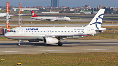 SX-DVL - Airbus A320-232 - Aegean Airlines