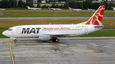 Z3-AAF - Boeing 737-3B7 - Macedonian Airlines (MAT)