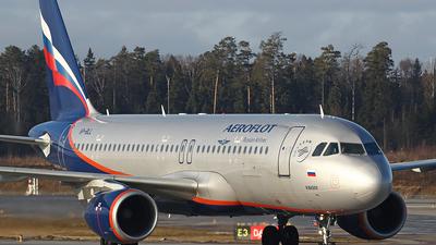 VP-BLL - Airbus A320-214 - Aeroflot