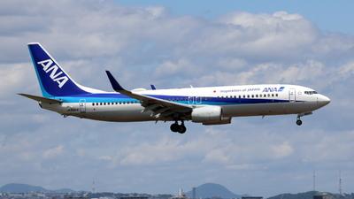 JA66AN - Boeing 737-881 - All Nippon Airways (ANA)