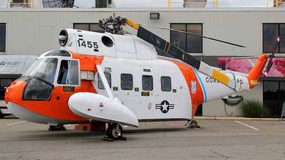 1455 - Sikorsky HH-52A Sea Guard - United States - US Coast Guard (USCG)