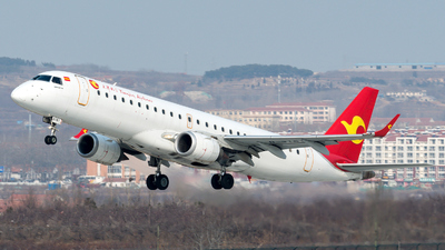 B-3181 - Embraer 190-100LR - Tianjin Airlines