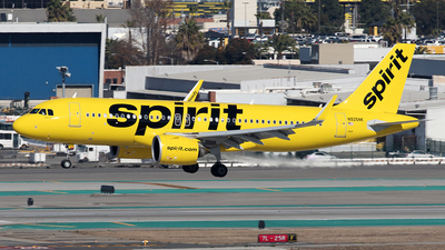 A picture of N925NK - Airbus A320271N - Spirit Airlines - © Yixin Chen