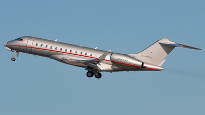 A picture of 9HVJQ - Bombardier Global 6000 - VistaJet - © JM Deza
