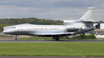 VP-CBT - Dassault Falcon 7X - Private