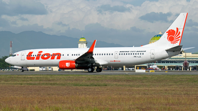 PK-LJL - Boeing 737-9GPER - Lion Air