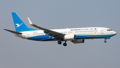 A picture of B1709 - Boeing 73785C - Xiamen Air - © Aaron_ZSAM