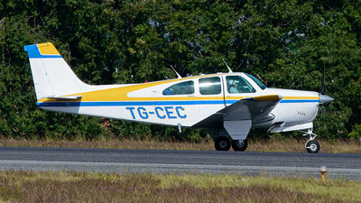 TG-CEC - Beechcraft Debonair 35-C33 - Private