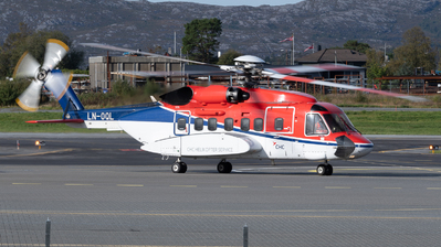 A picture of LNOQL - Sikorsky S92A - CHC Helikopter Service - © Richard Toft