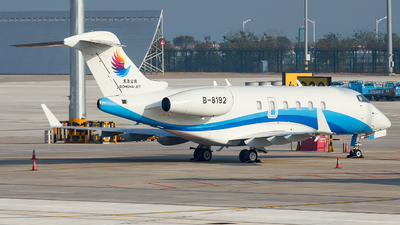 B-8192 - Bombardier BD-100-1A10 Challenger 300 - Donghai Jet