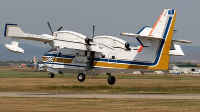 A picture of CGFSL - Canadair CL215 - Conair - © Mike MacKinnon
