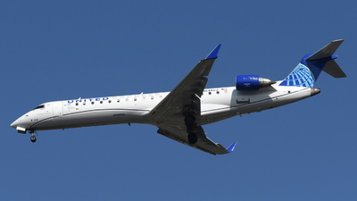 A picture of N544GJ - Mitsubishi CRJ550 - United Airlines - © DJ Reed - OPShots Photo Team