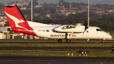 A picture of VHTQG - De Havilland Canada Dash 8200 - Qantas - © Daniel Benefield