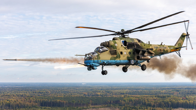 RF-13374 - Mil Mi-35M Hind - Russia - Air Force