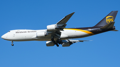 A picture of N611UP - Boeing 7478F - UPS Airlines - © Predic. LXY!