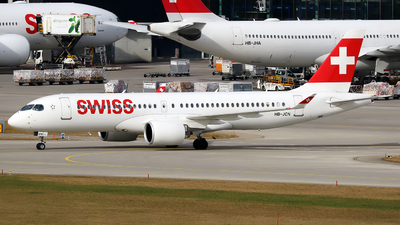 A picture of HBJCN - Airbus A220300 - Swiss - © Mihai Crisan