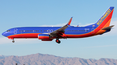 N8646B - Boeing 737-8H4 - Southwest Airlines