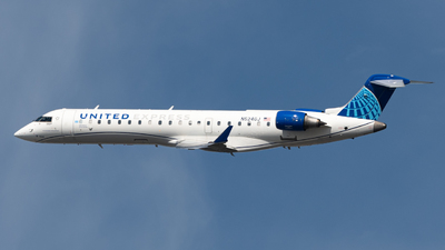 A picture of N524GJ - Mitsubishi CRJ550 - United Airlines - © JTPAviation