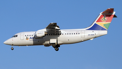 ZS-SSK - British Aerospace Avro RJ85 - Airlink